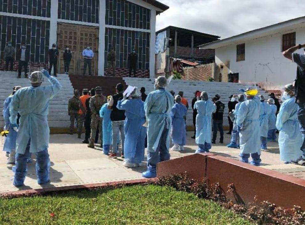Essalud - EsSalud Amazonas participa en operativo multisectorial para prevenir la Covid-19