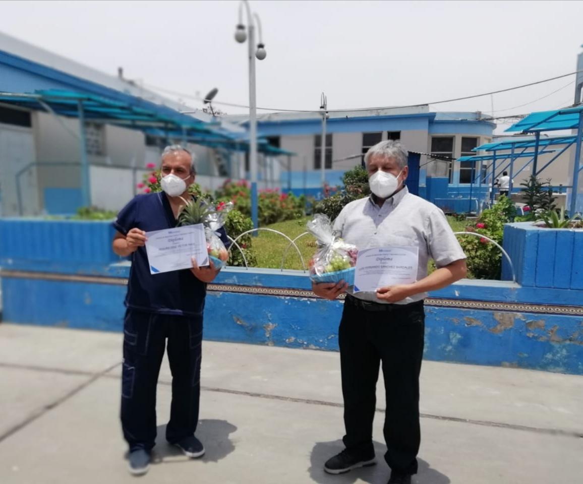 Essalud - EsSalud La Libertad: pacientes post Covid-19 reciben tratamiento en programa de rehabilitación integral