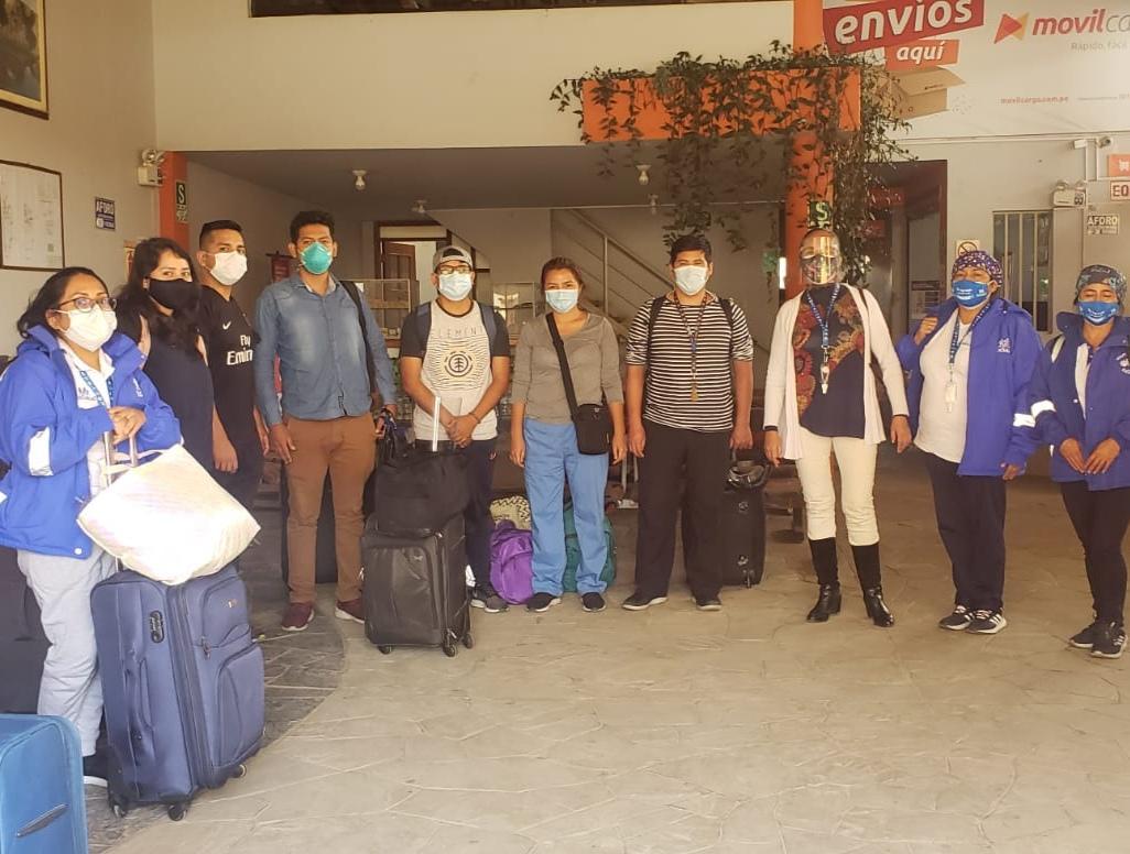Essalud - EsSalud Amazonas: brigada del Hospital Perú reforzará atención de pacientes Covid-19 en Chachapoyas, Bagua Grande y Bagua