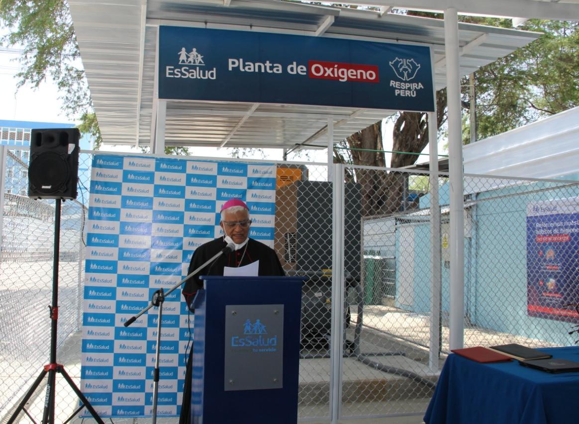 EsSalud Piura pone en funcionamiento planta de oxígeno para tratar a pacientes críticos