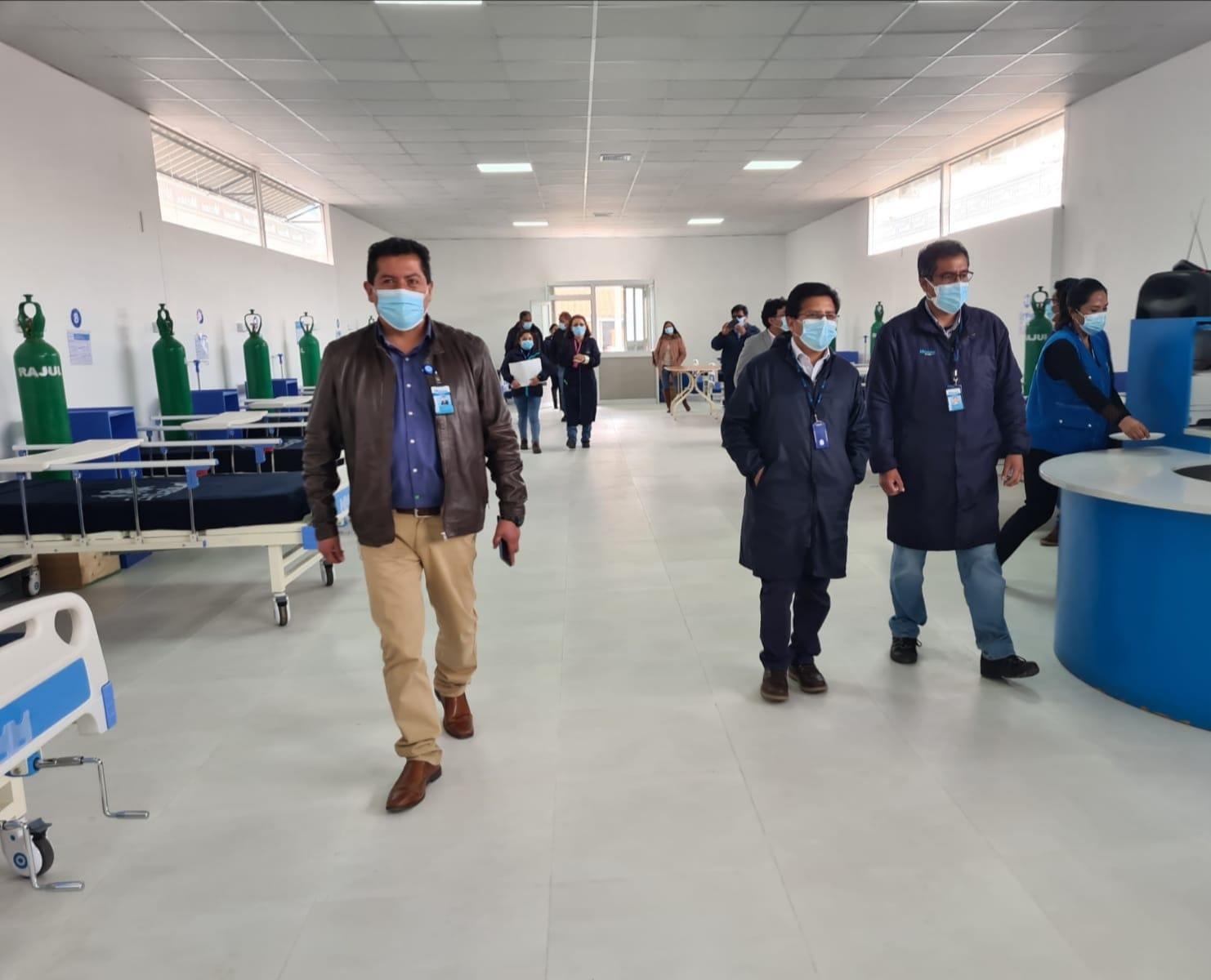 Essalud - EsSalud Juliaca implementa más camas hospitalarias en beneficio de los asegurados de esa zona del país