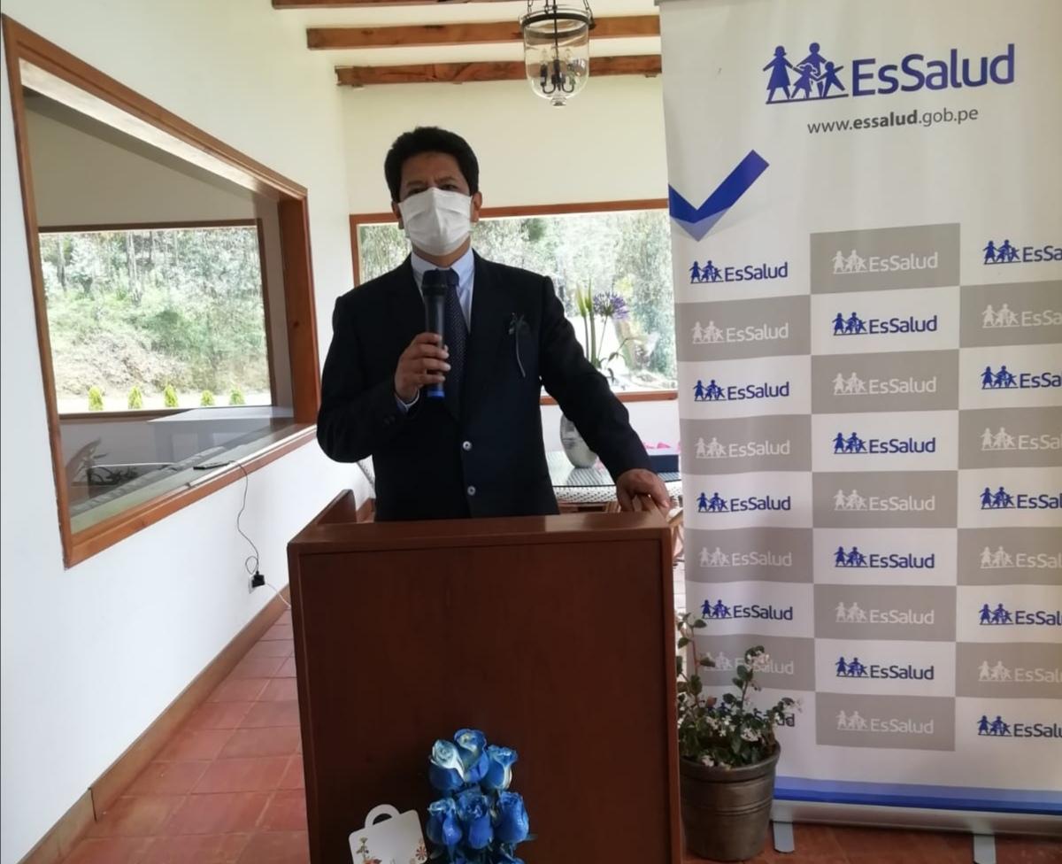 Essalud - EsSalud Amazonas presenta a nuevo director médico de la red asistencial