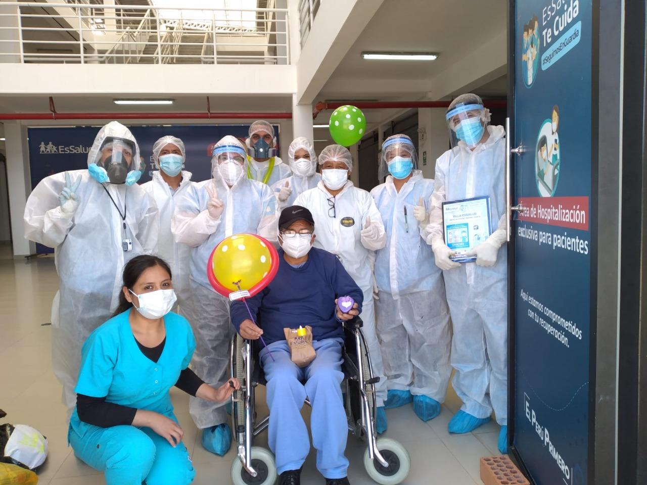 Essalud - Paciente de Villa EsSalud Cajamarca reconoce a  médicos y enfermeras que lo cuidaron durante su hospitalización