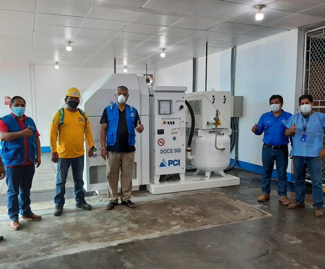 Essalud - EsSalud Loreto pone en funcionamiento planta de oxigeno medicinal en el Hospital III Iquitos ante la alta demanda de este insumo