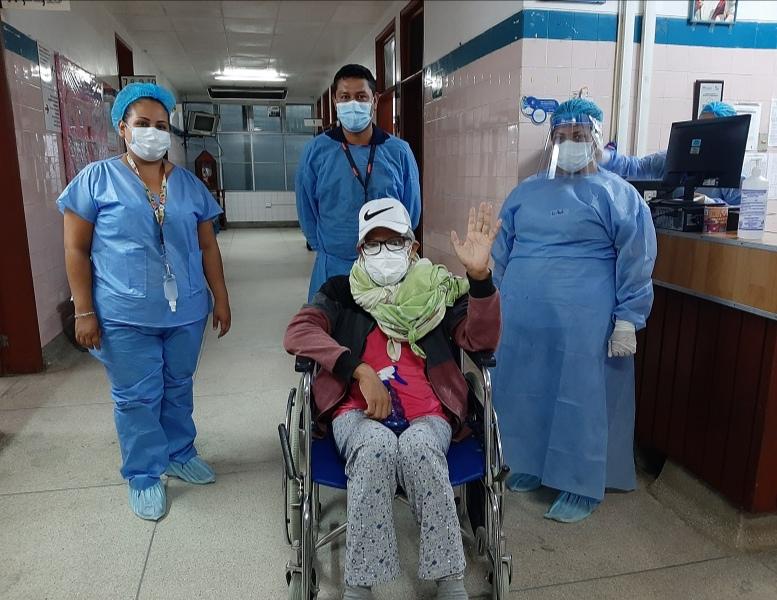 Essalud - Este año, más 400 pacientes de EsSalud Loreto retornaron a sus hogares tras superar la Covid-19