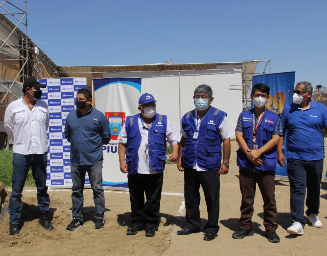 Essalud - EsSalud Piura: inician trabajos para instalación de segunda planta de oxígeno