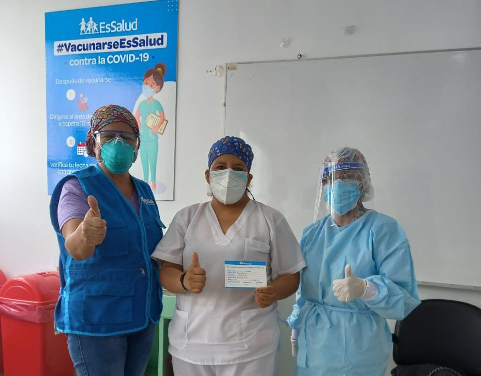 EsSalud: cuatro regiones inician proceso de vacunación con la segunda dosis contra la Covid-19