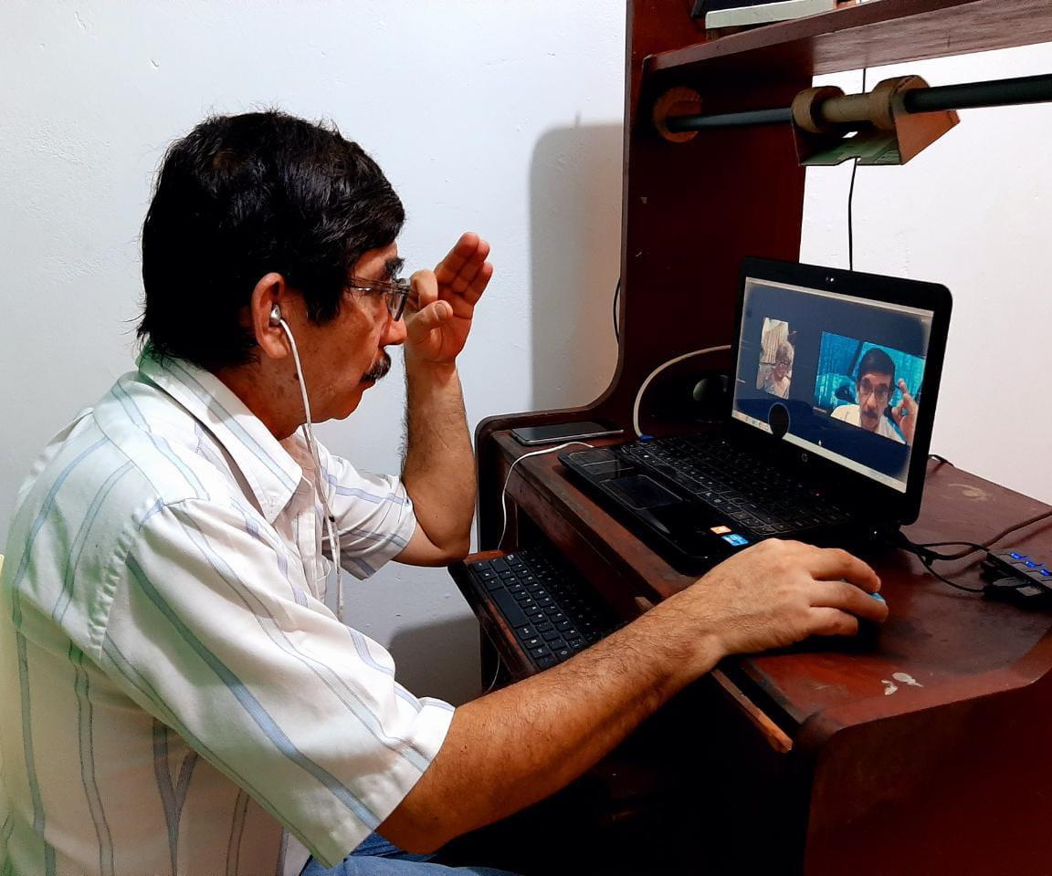 Essalud - EsSalud Loreto: 300 adultos mayores del CAM Iquitos reinician talleres de capacitación virtual