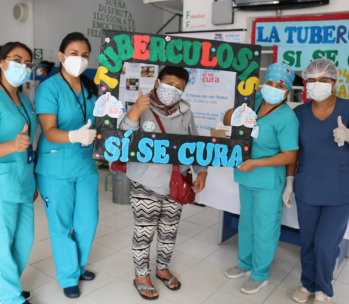 Essalud - EsSalud Huánuco: la tuberculosis se cura también en tiempos de Covid-19