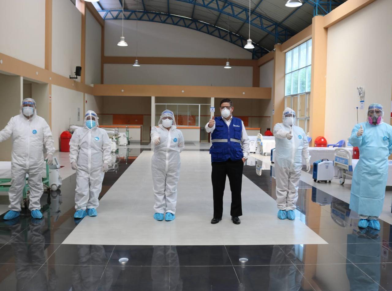 Essalud - EsSalud Huánuco refuerza acciones de prevención ante la Covid-19 en provincia de Ambo