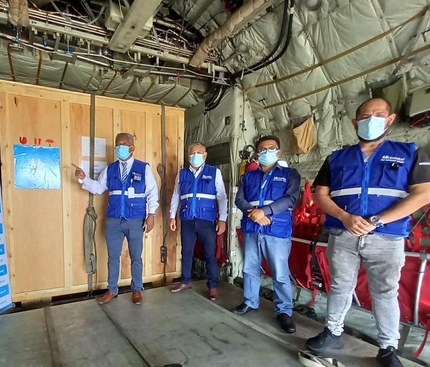 Essalud - EsSalud Áncash y Huaraz realizan instalación de nuevas plantas de oxígeno medicinal enviadas desde Lima