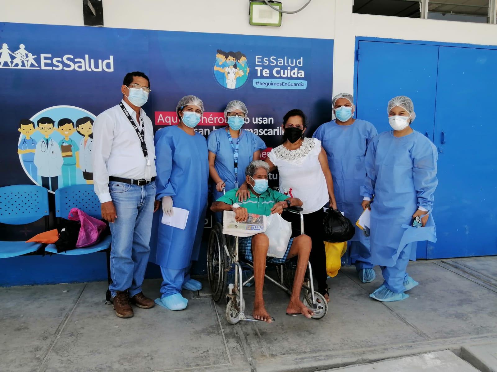 Essalud - Gracias al uso de la oxigenoterapia asegurados de EsSalud que viven en zona de frontera vencieron al Covid-19