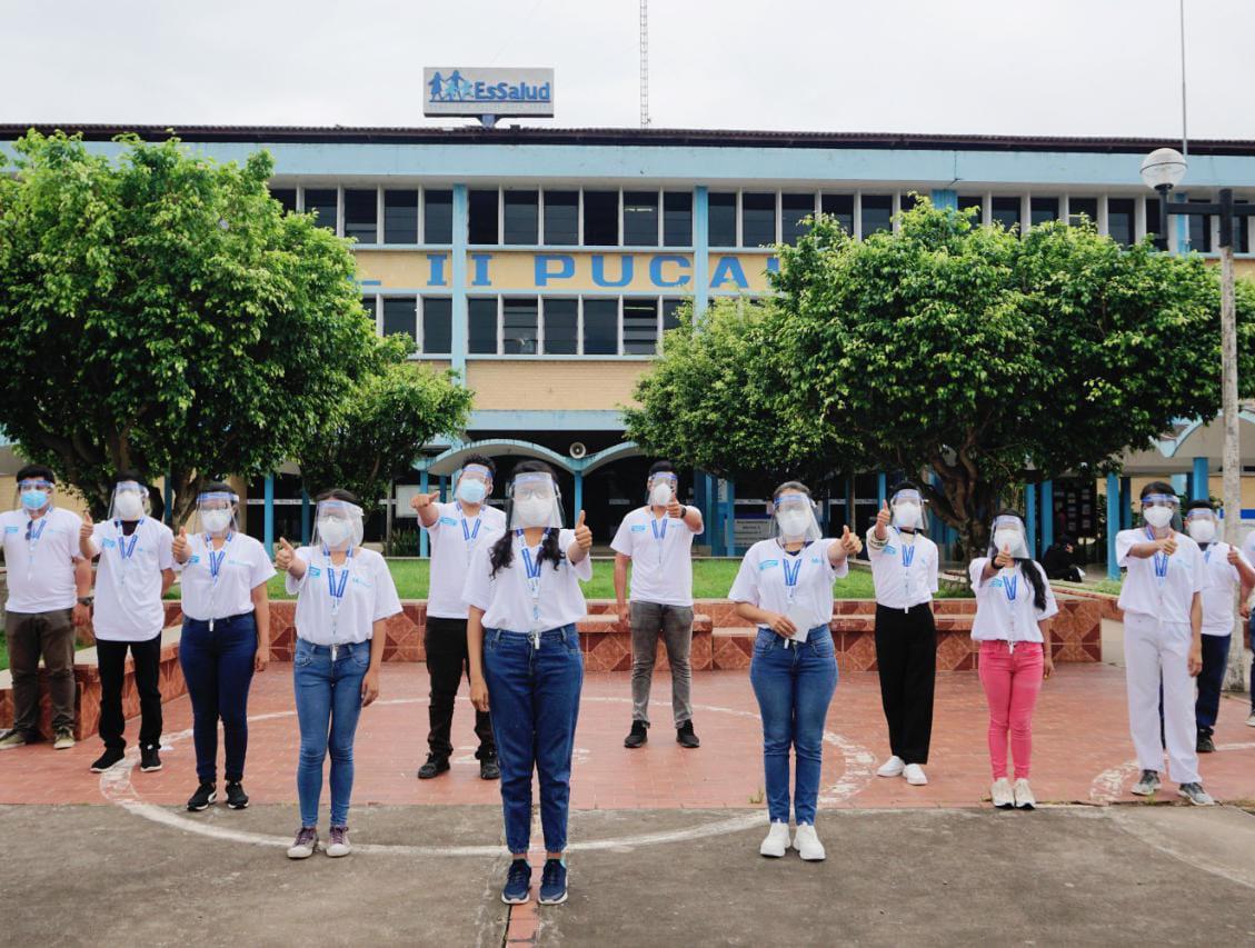 Essalud - EsSalud Ucayali suma voluntarios para fortalecer campaña de vacunación contra la Covid-19