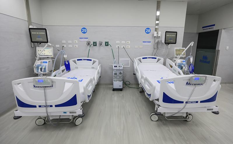 Essalud - EsSalud amplía camas UCI para pacientes COVID-19 en Hospital Mongrut