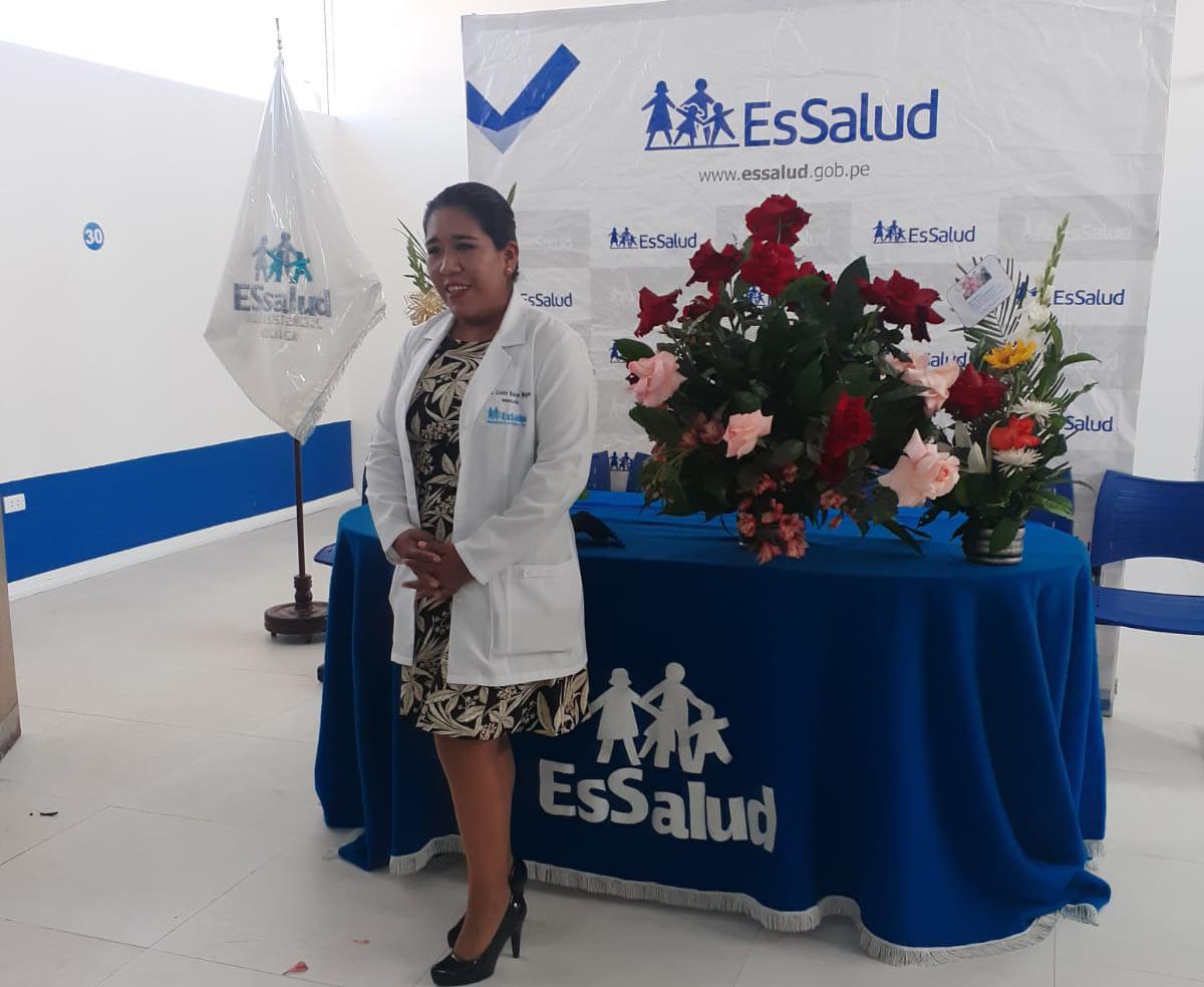 Nueva directora del Hospital III Juliaca de EsSalud asume sus funciones para seguir en la lucha contra la Covid-19