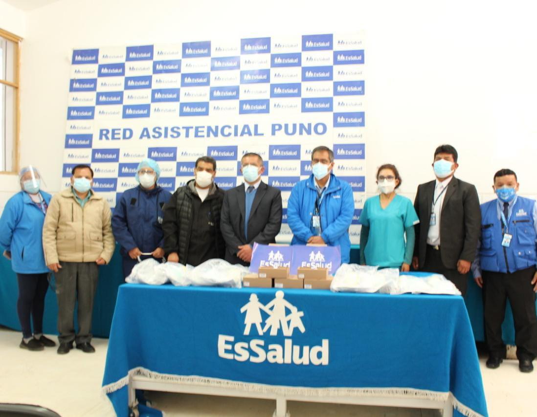 Essalud - EsSalud Puno recibe Wayrachis que ayudarán a salvar vidas de pacientes Covid-19 y evitar el traslado a UCI