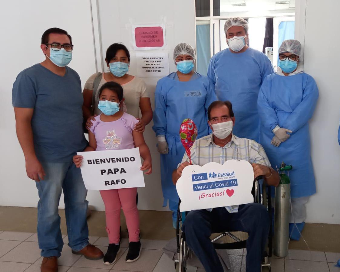Essalud - EsSalud Moquegua salvó la vida de más de 20 pacientes que fueron entubados en UCI por Covid-19 durante este año