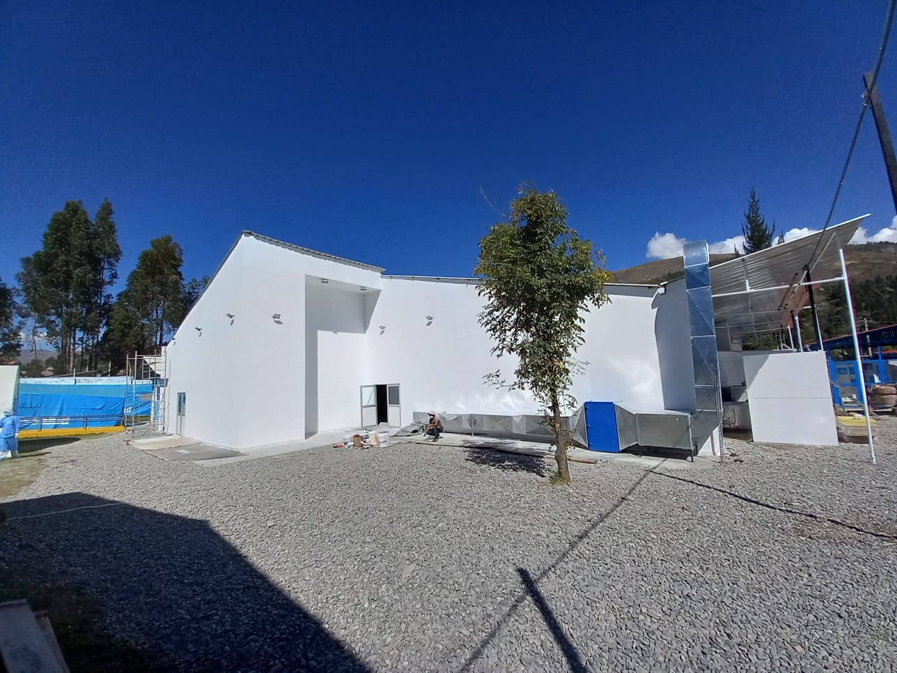 Essalud - Villa EsSalud Huaraz es construida en tiempo récord y entrará en funcionamiento en los próximos días para reforzar la atención de pacientes Covid-19