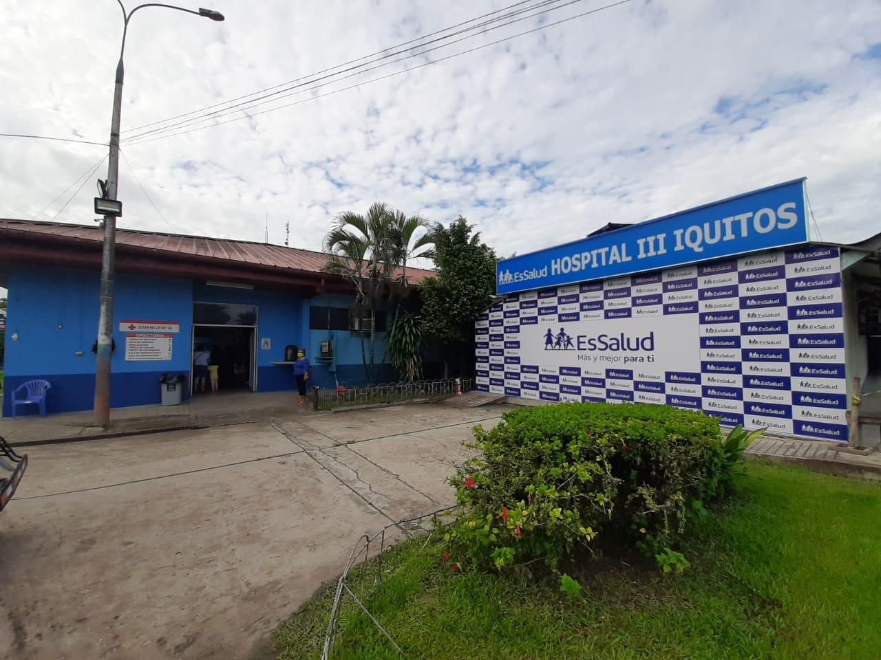 Essalud - EsSalud Loreto brinda apoyo a otras redes del Seguro Social con camas UCI