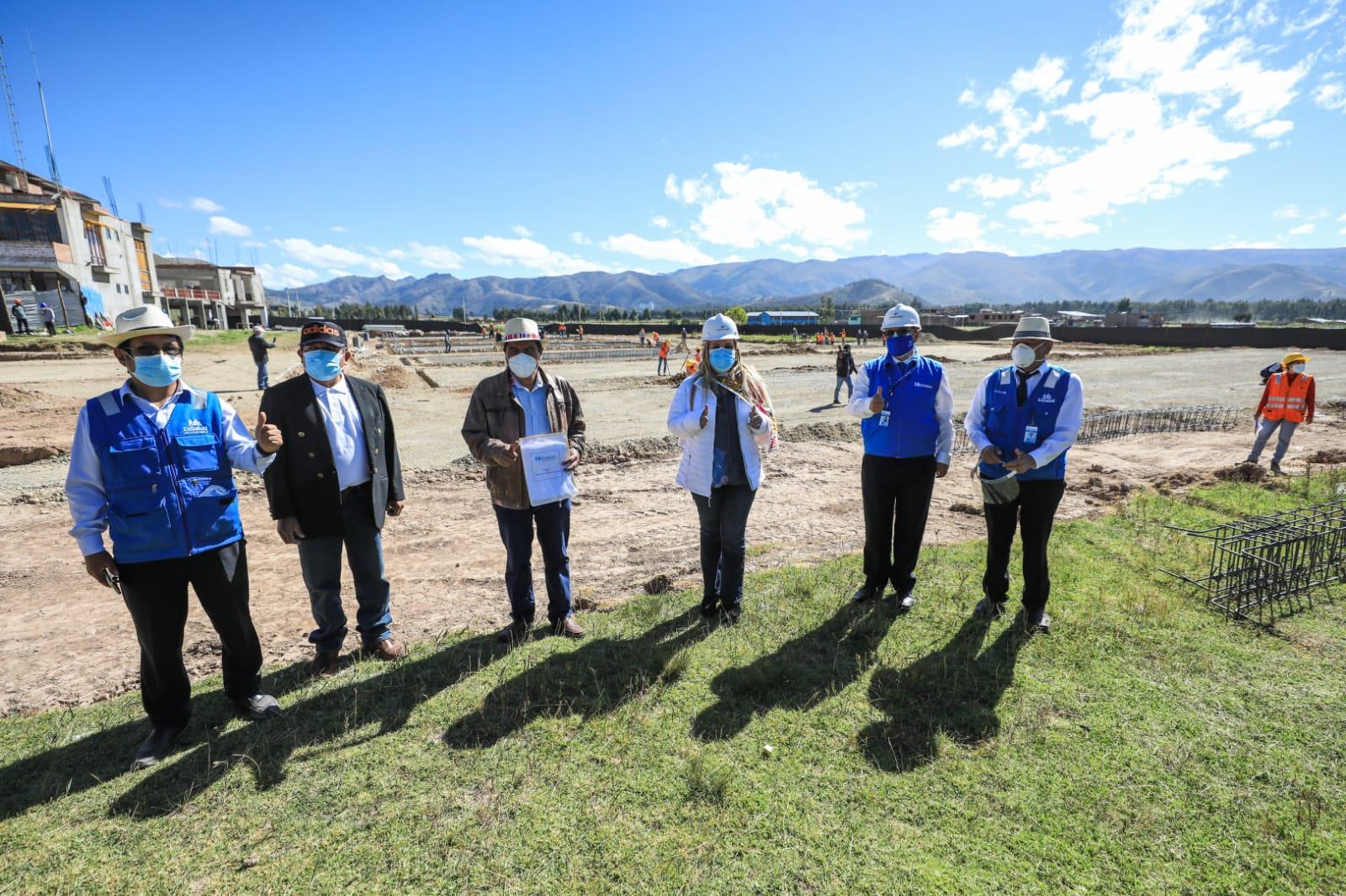 Essalud - Fiorella Molinelli anunció construcción de nuevo Hospital Modular de Jauja que beneficiará a más de 50 mil asegurados y puso en marcha 2 plantas de oxígeno en Junín