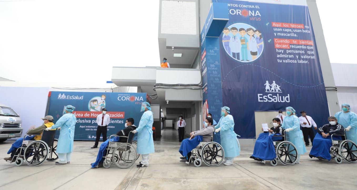Essalud - Transfieren a EsSalud más de S/ 285 millones para continuar con la contratación del personal y servicios de salud de atención  a pacientes COVID 19