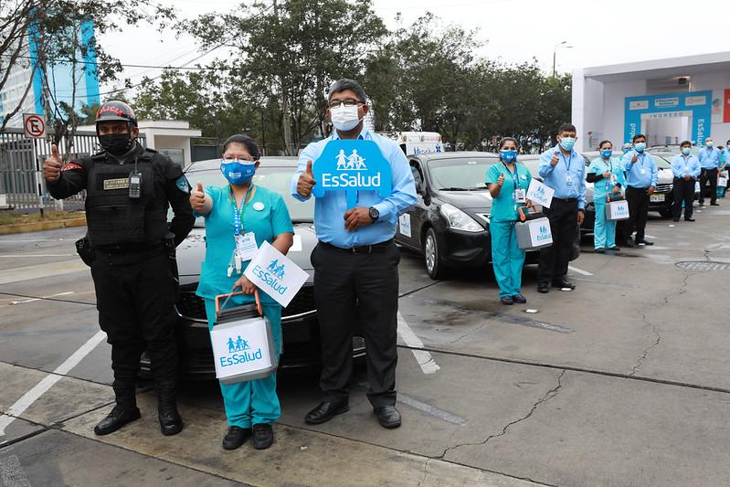 EsSalud vacunará en casa contra el Covid-19 a pacientes imposibilitados de desplazarse de Lima y Callao