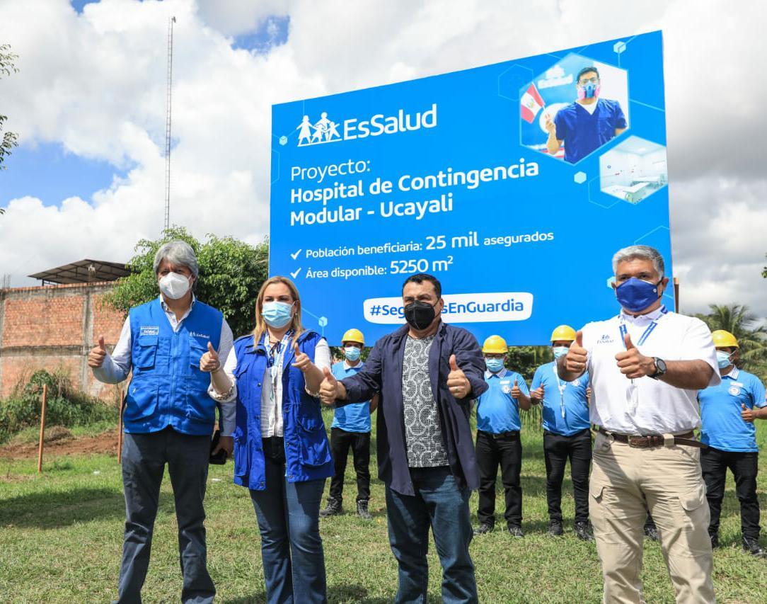 Essalud - Fiorella Molinelli inauguró 2 Centros Médicos Especializados del Primer Nivel de Atención en zona de frontera con Brasil, para beneficio de comunidades alejadas de Ucayali