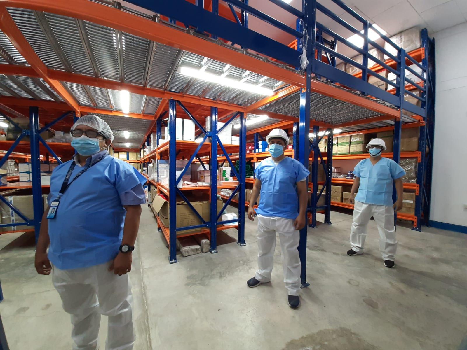 Essalud - EsSalud Loreto mejora ambientes de almacenamiento de medicamentos en beneficio de asegurados