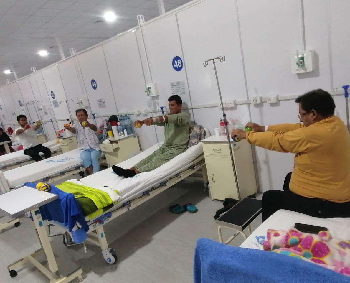 Essalud - EsSalud La Libertad: más de 2,700 pacientes Covid-19 mejoraron su estado anímico tras recibir tratamiento psicológico en Hospital Virgen de la Puerta