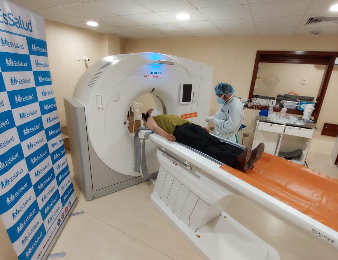 Essalud - EsSalud Cusco: destacan importancia de la tomografía en el diagnóstico precoz de pacientes con Covid-19
