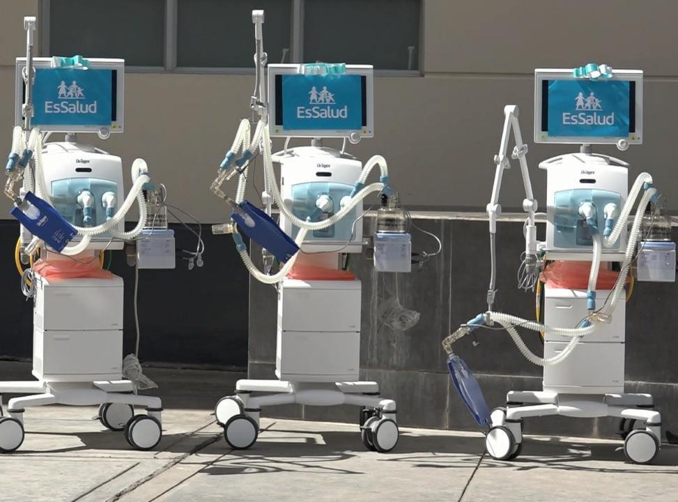 Essalud - EsSalud Apurímac adquiere 6 ventiladores mecánicos y 5 camas UCI