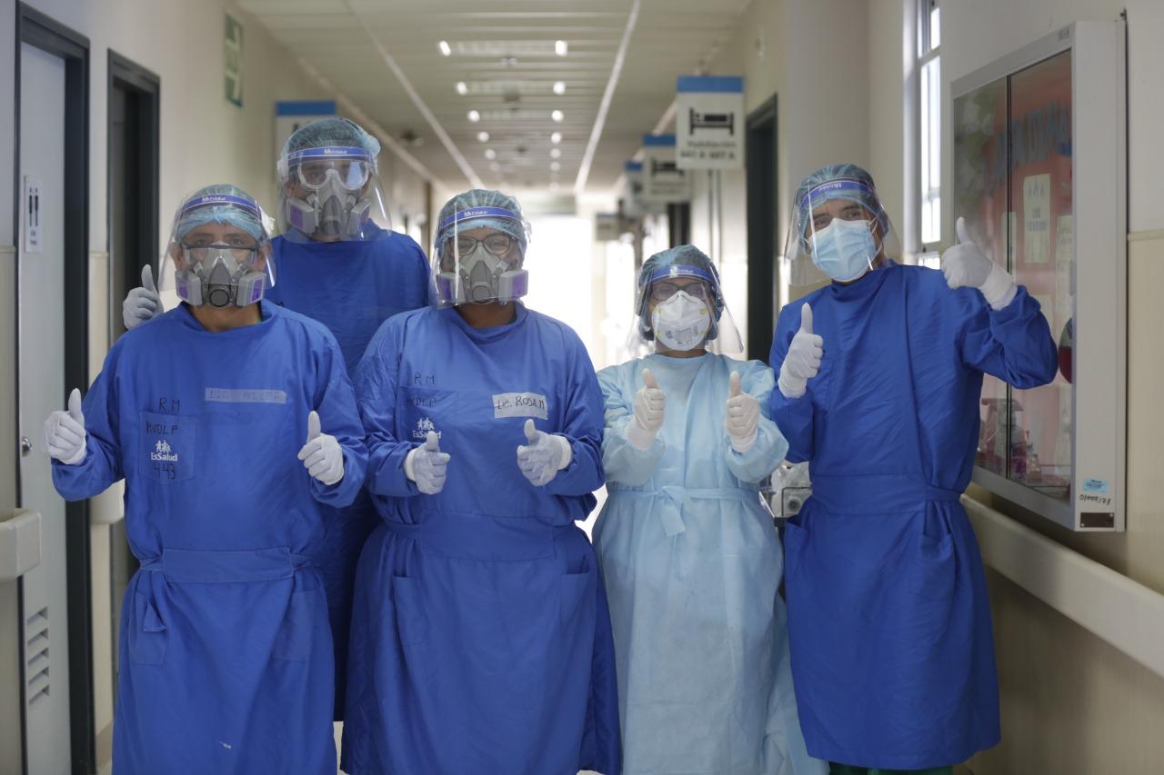 Essalud - EsSalud La Libertad destaca el trabajo continuo del personal de salud que sigue en lucha contra la Covid-19