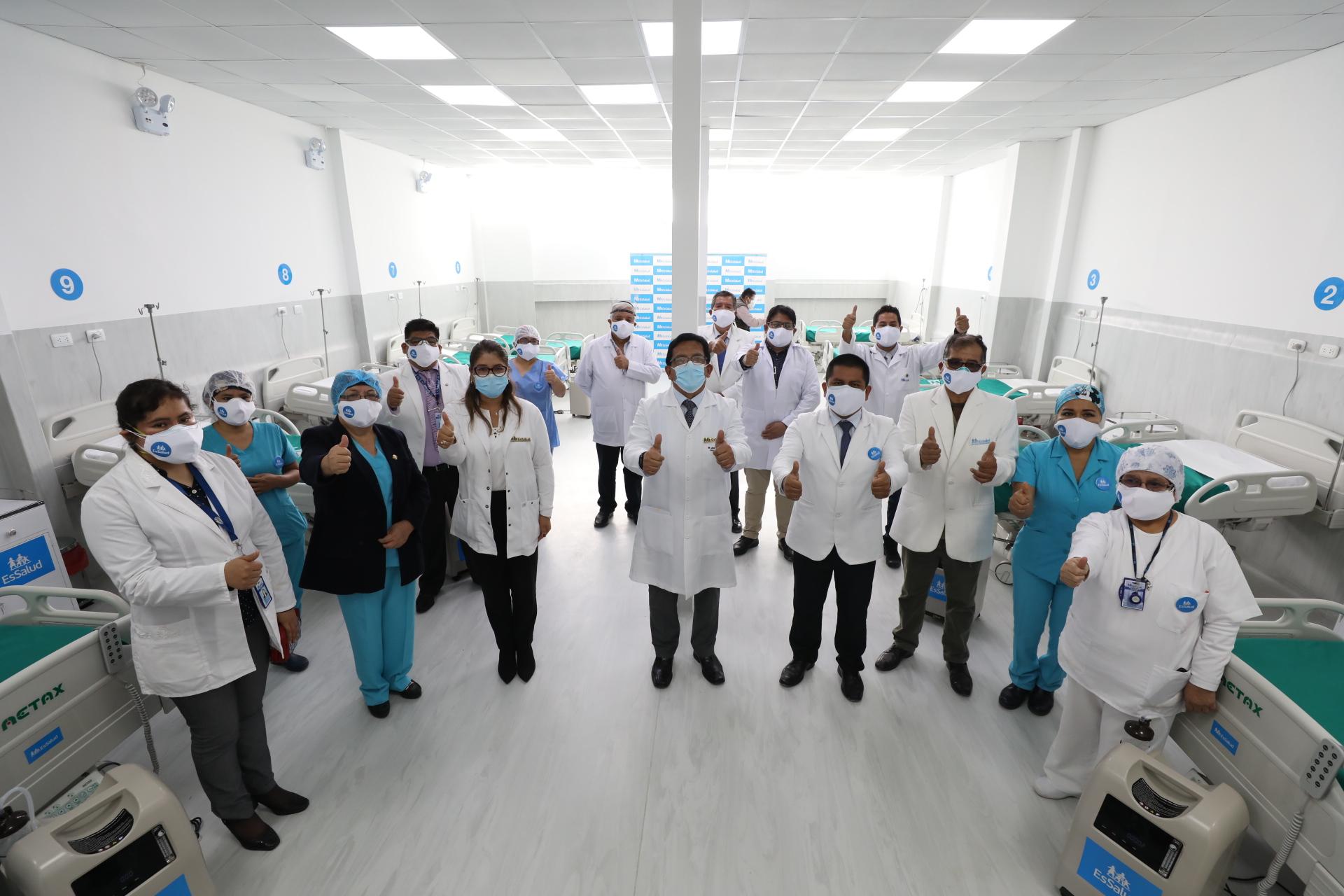 Essalud - Hospital II Cañete de EsSalud cumple 73 años y reinicia cirugías en beneficio de los asegurados