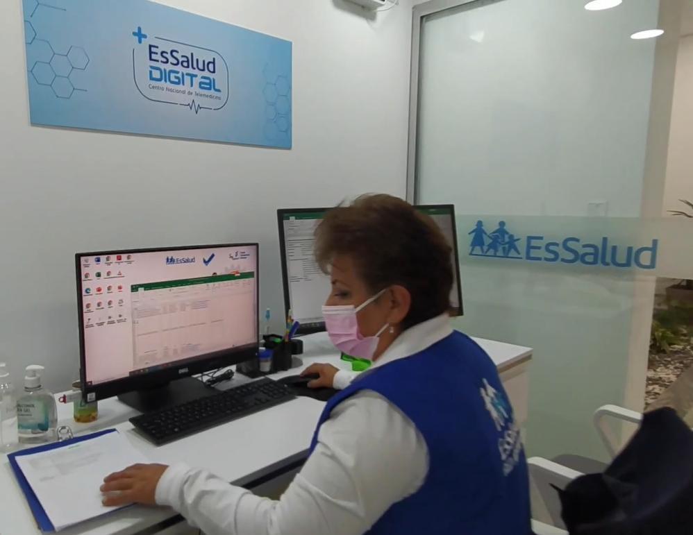 Essalud - Telemedicina de EsSalud Arequipa atiende más de 320 consultas por día a pocas semanas de su inauguración