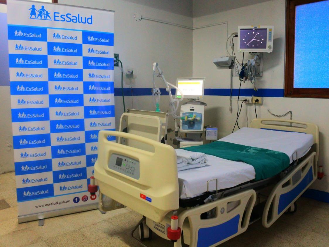 EsSalud Huaraz incrementa camas UCI para reforzar la atención de pacientes Covid-19
