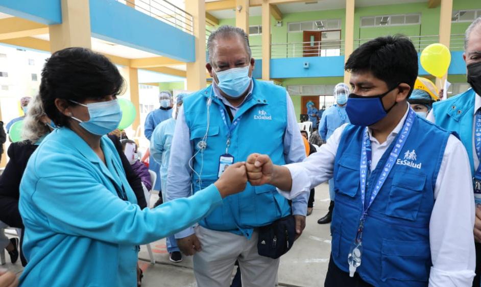Pesidente de EsSalud viajó a Lambayeque para supervisar prestaciones de salud y avances en infraestructura hospitalaria