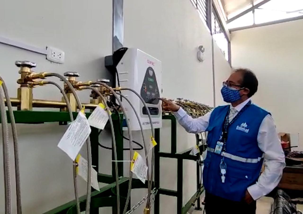 EsSalud Tacna ya cuenta con planta de oxígeno considerada la más grande de la región para pacientes Covid-19