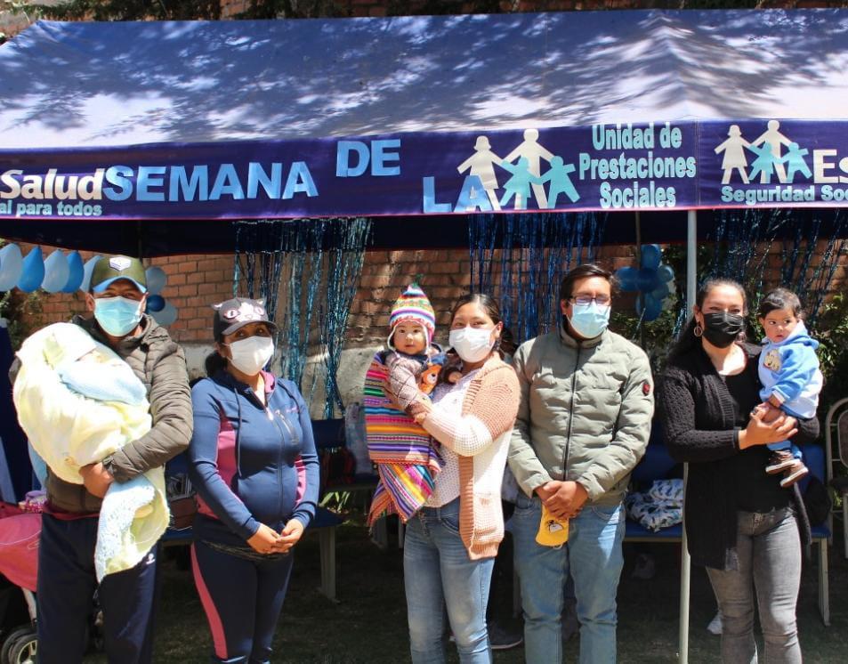 EsSalud Puno: bebé de 7 meses ganó concurso que promueve la lactancia materna