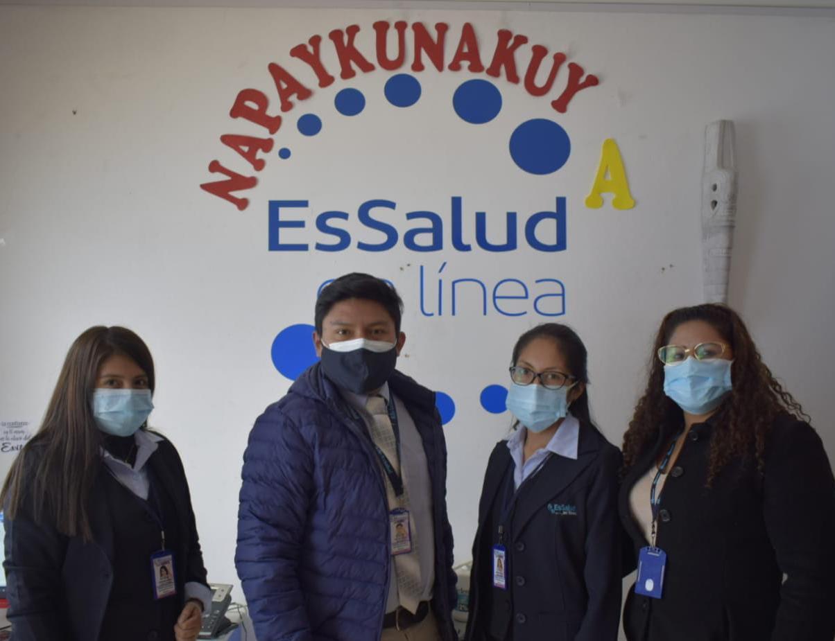 Essalud - EsSalud Huaraz amplía ofertas médicas para atención presencial y por teleconsultas
