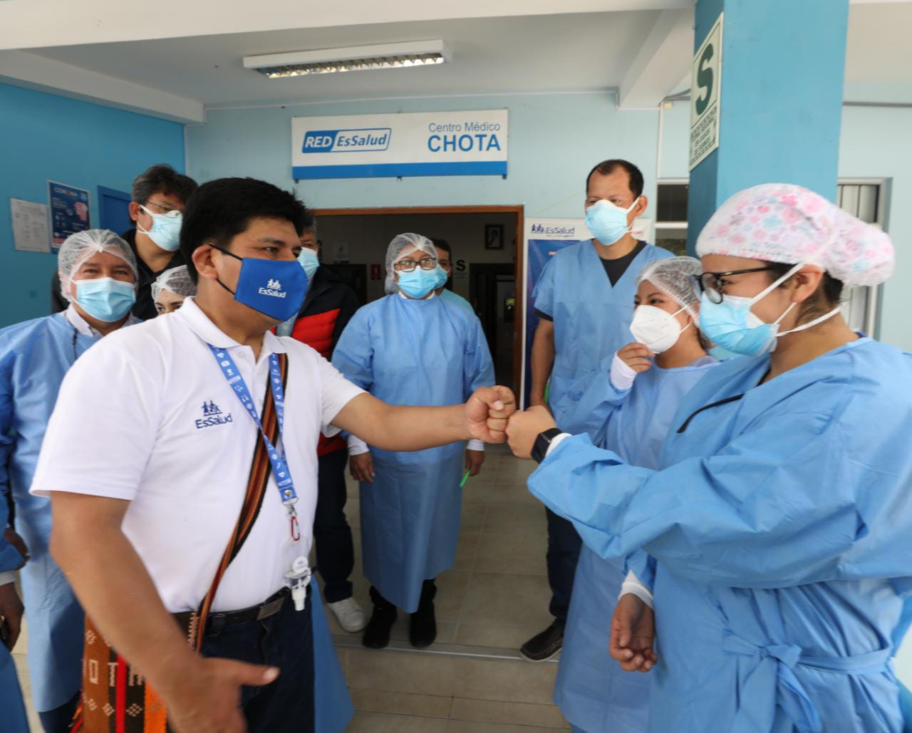 Essalud - EsSalud optimiza la accesibilidad de sus servicios de salud a miles de pobladores de Chota y Cutervo