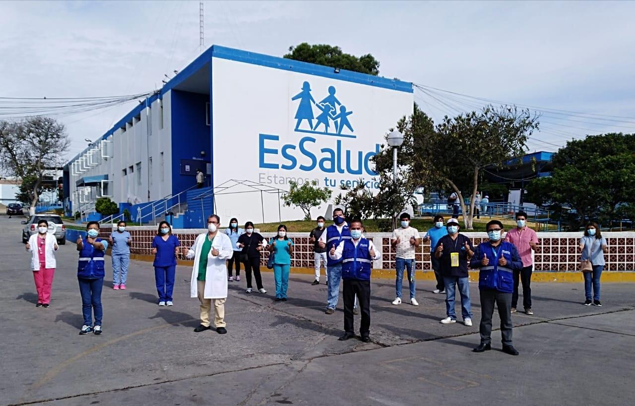 EsSalud Áncash incrementa recursos y equipos en hospitales ante una eventual tercera ola de la Covid-19