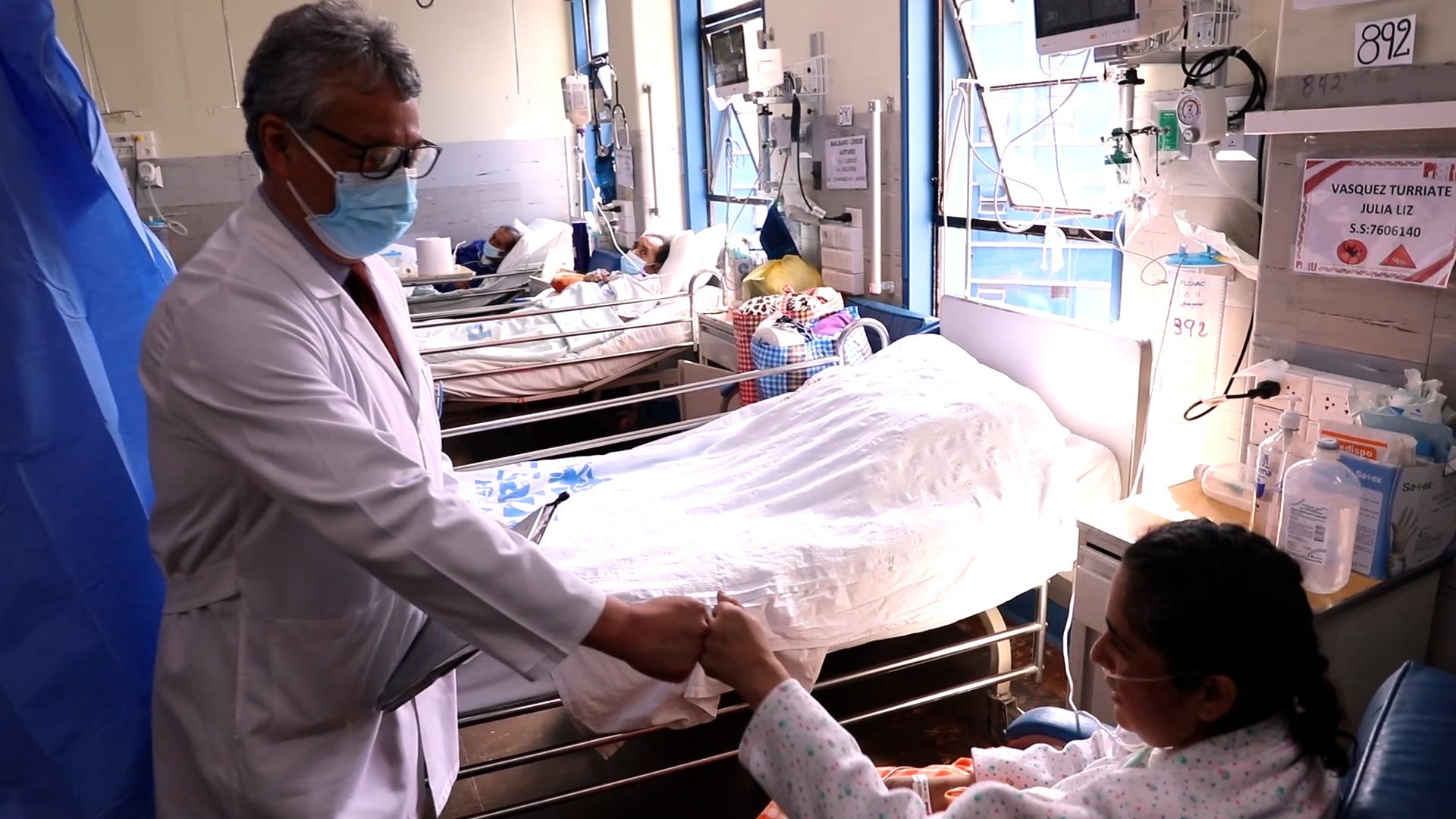 Hospital Almenara de EsSalud implementa 145 camas con equipos de alto flujo ante posible tercera ola del Covid-19