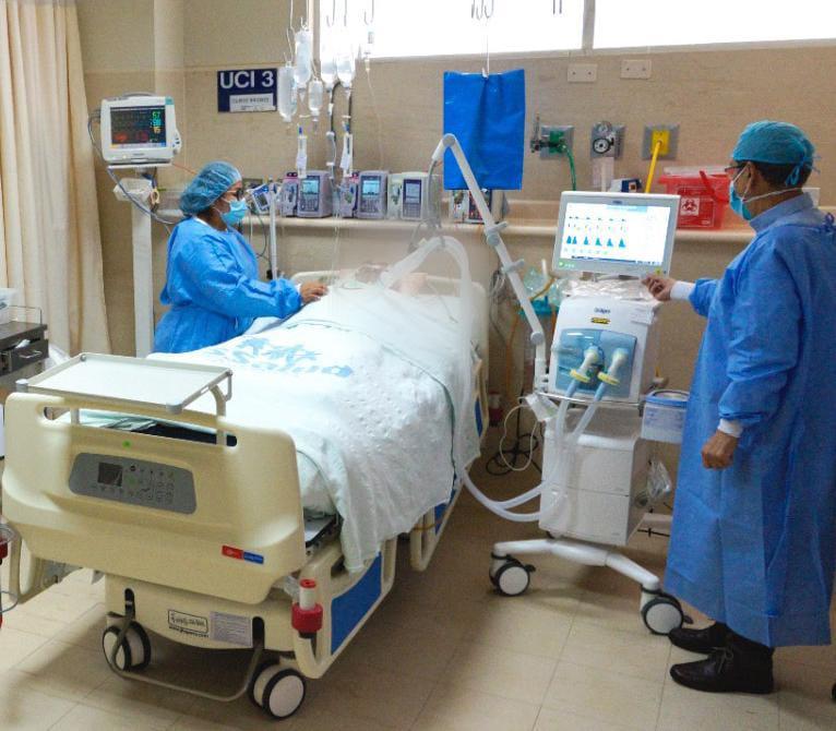 EsSalud La Libertad equipa las áreas de UCI y UCIN del Hospital Víctor Lazarte Echegaray para redoblar la atención de pacientes Covid y No Covid