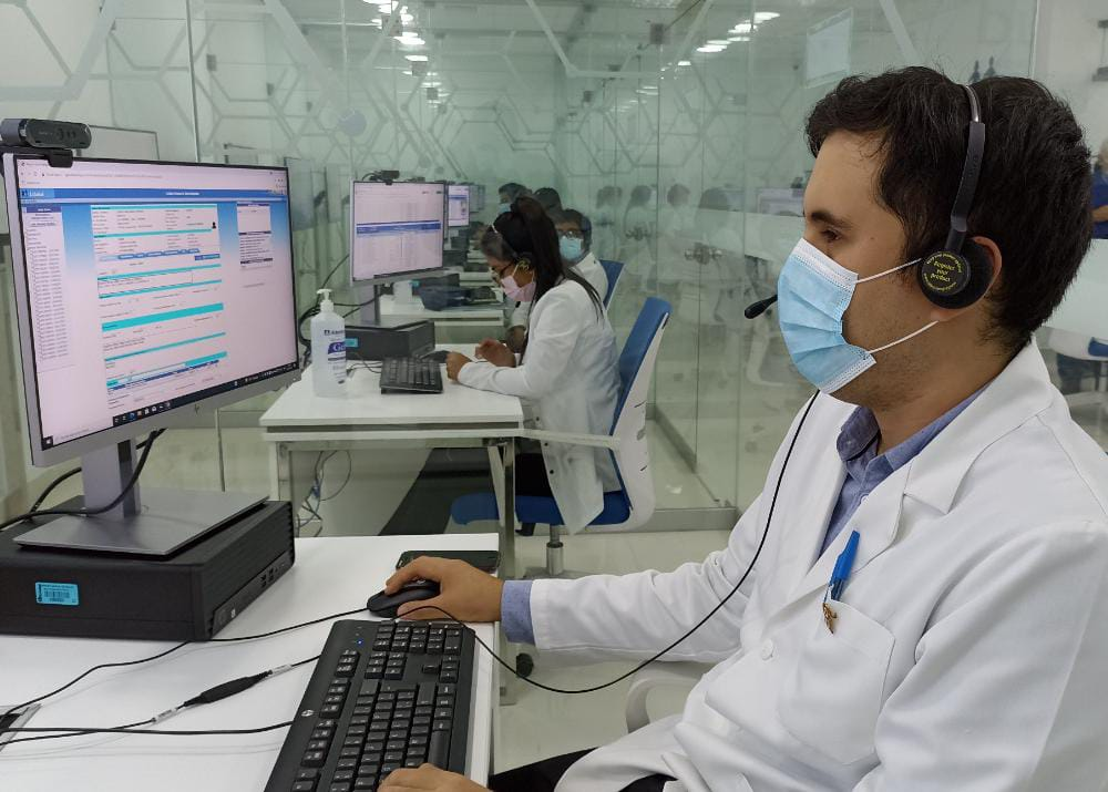 Essalud - EsSalud Piura: a un mes y medio de su inauguración el Centro de Telemedicina ha atendido más de 9 mil consultas virtuales