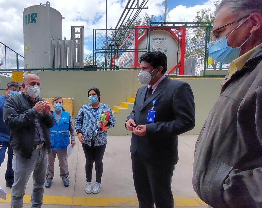 Essalud - EsSalud Cusco confirma que existe adecuado abastecimiento de oxígeno medicinal, en beneficio de los pacientes