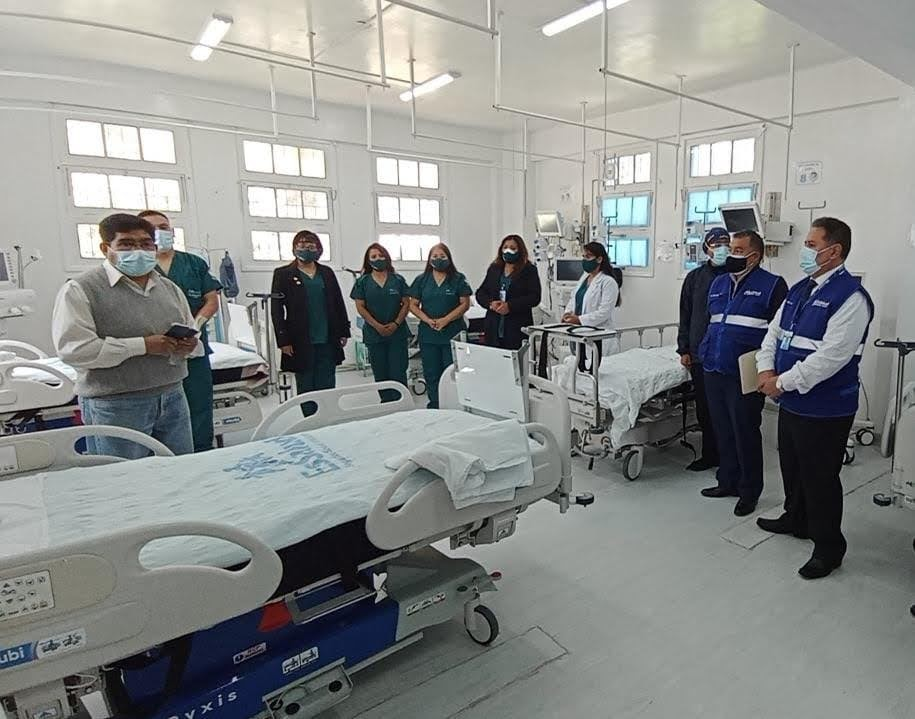 Essalud - EsSalud Pasco: UCI del Hospital de Huariaca cumple un año de funcionamiento