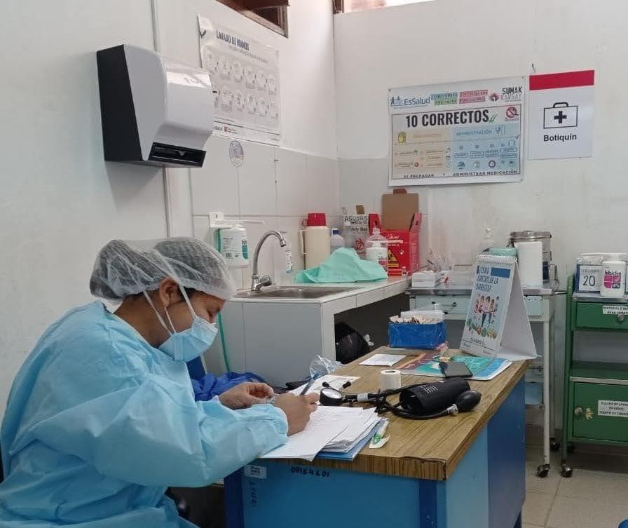 Essalud - EsSalud Amazonas: brigada del Hospital Perú reforzará atención de pacientes Covid-19 en esa región