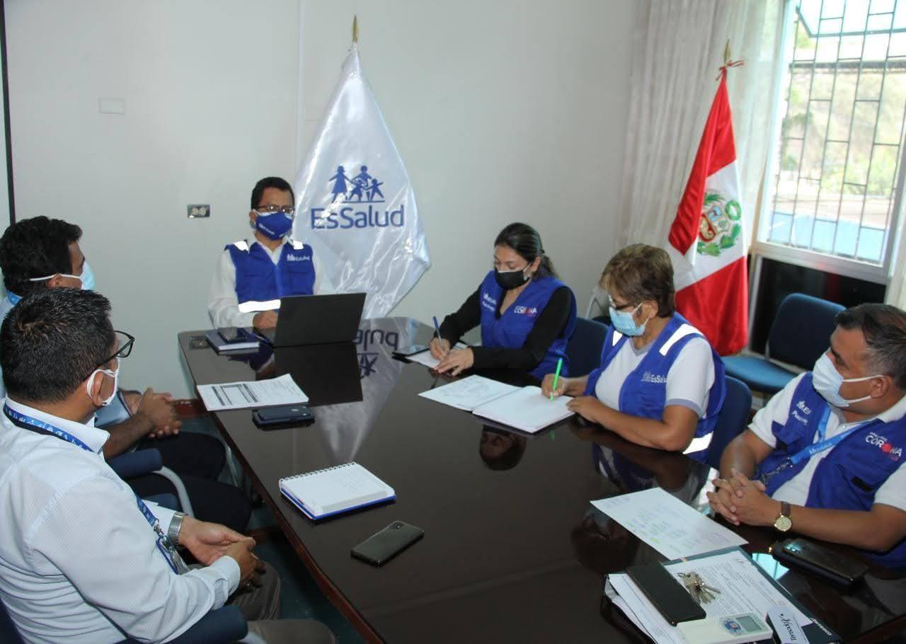 Essalud - Nuevo gerente de EsSalud Piura asume funciones y reafirma lucha contra la Covid-19
