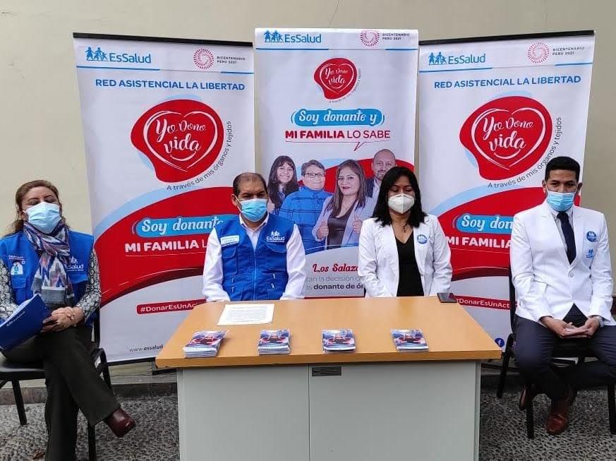 Essalud - EsSalud La Libertad Inició la Semana del Donante de Órganos y Tejidos