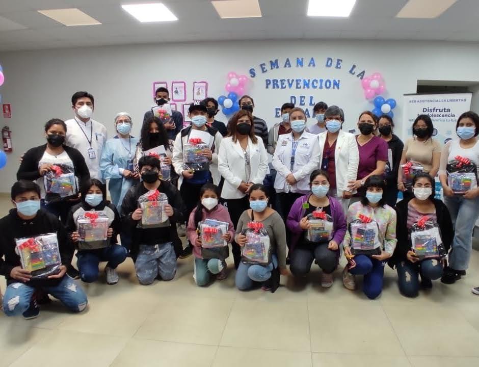 Essalud - EsSalud La Libertad inició la Semana de Prevención del Embarazo Adolescente
